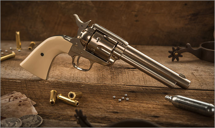 Colt Peacemaker Nickel BB