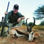 Steve Scott after a hunting trip using the Umarex Hammer