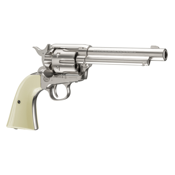 Picture of COLT SINGLE ACTION ARMY 45 BB GUN REVOLVER NICKEL : UMAREX AIRGUNS