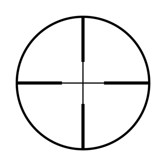 Picture of WALTHER 4 X 32 (1 TUBE)  RETICLE 8