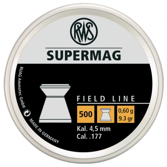 Picture of RWS SUPERMAG .177 - 500CT (BLISTER) (CHANGED TO 2315042)