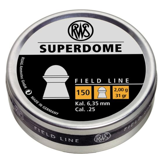 Picture of RWS SUPERDOME .25 - 150CT (BLISTER)