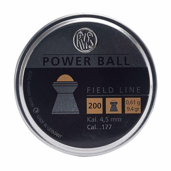 Picture of RWS POWER BALL .177 AIRGUN PELLET 200 CT