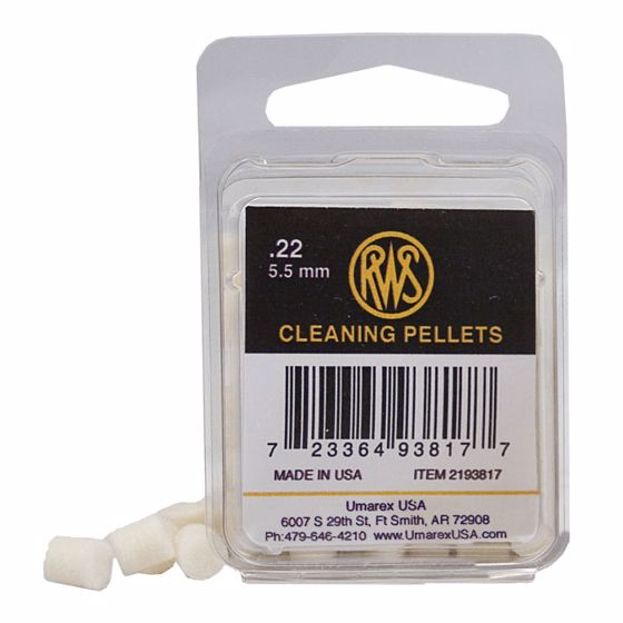 Picture of RWS AIRGUN MAINTENANCE FELT CLEANING PELLETS .22 CALIBER - 80CT