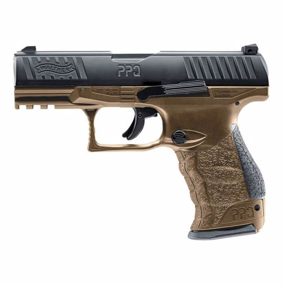 Picture of T4E WALTHER PPQ M2 LE TRAINING MARKER PISTOL .43 CAL - FDE