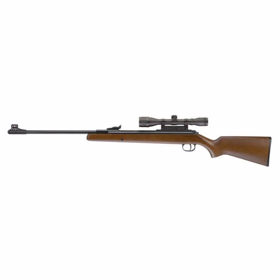 Picture of RWS Model 34 .22 caliber pellet rifle with 4x32 Scope and Rings : Umarex Airguns