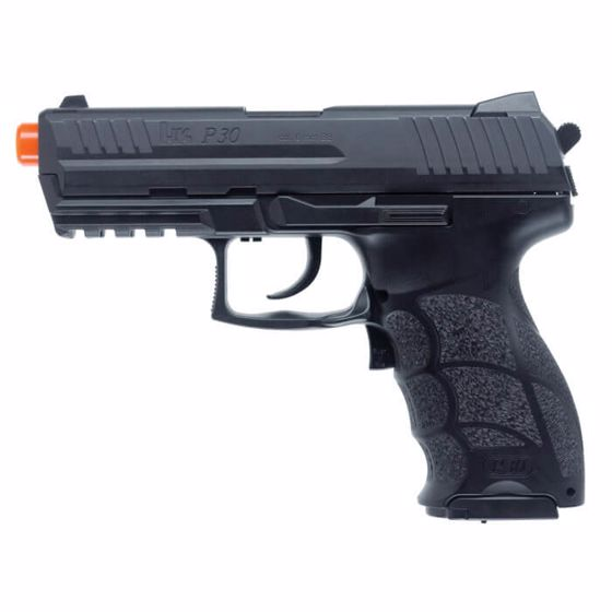 Picture of HECKLER & KOCH H&K P30 ELECTRIC AIRSOFT FULL AUTO BB GUN BLACK : UMAREX