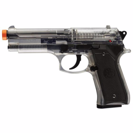 Picture of BERETTA 92FS SPRING 6mm Airsoft Pistol - CLEAR : Umarex Airguns