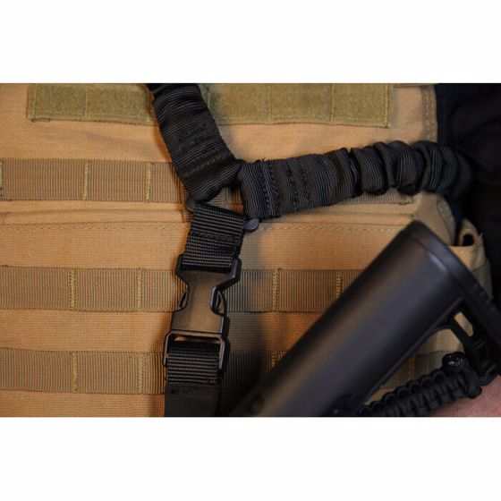 Picture of ELITE FORCE DUAL BUNGEE SINGLE POINT SLING BLACK