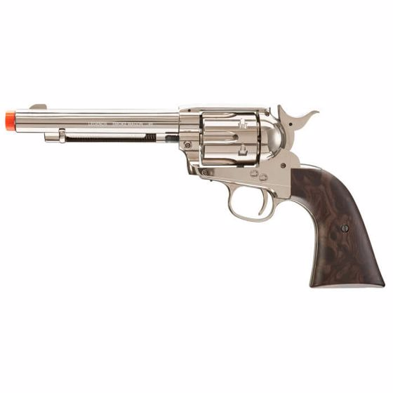 Picture of LEGENDS SMOKE WAGON 6 mm Airsoft Pistol Revolver NICKEL