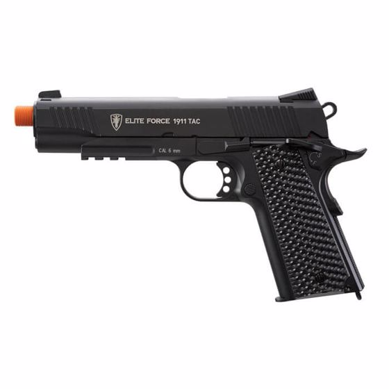 Picture of Elite Force 1911 TAC 6mm CO2 Airsoft Pistol Black