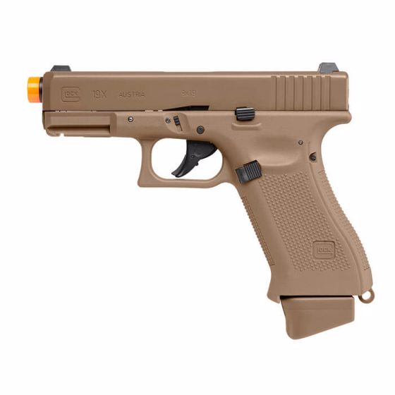 Picture of GLOCK G19X CO2 6MM Airsoft Pistol COYOTE : Elite Force
