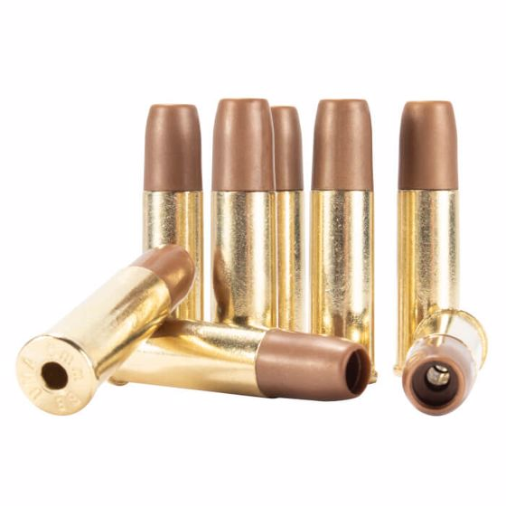 Picture of S&W M&P R8 CARTRIDGES - 8 PACK - 6MM - GOLD