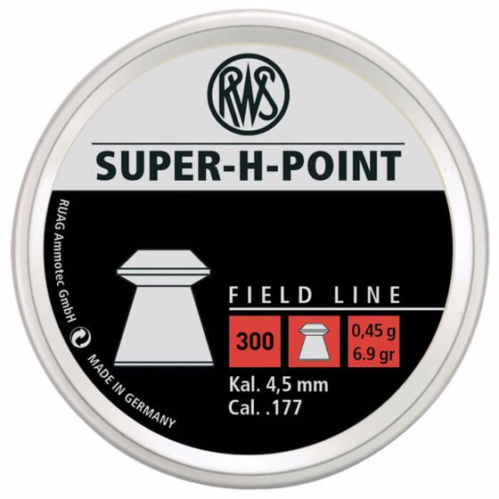 Picture of RWS SUPER H POINT .177 300 CT