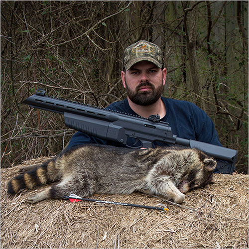 Umarex AirJavelin with Raccoon