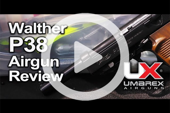 Walther P38 Airgun Review Video